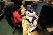 I Högskolans nya automationslabb finns framtiden