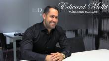 Edward Melki - månadens mäklare i september