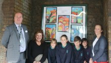Children's art launches North Dulwich station partnership