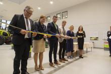 Cathrina Claas-Mühlhäuser invigde Skurupsanläggning