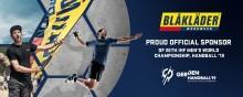 BLÅKLÄDER STOLT SPONSOR TILL HANDBOLLS-VM  2019