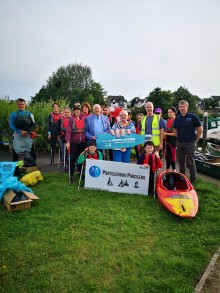 Portglenone Paddlers join the Refillution with Mid and East Antrim Borough Council