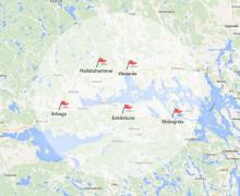 Fem kommuner går samman och startar Fibra – för att driva och utveckla ett av Sveriges största bredbandsnät