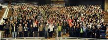 Nära 800 frivilliga ska ordna EM-festen