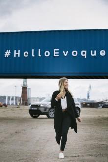 Ridsport- och TV-stjärna Selma Hammarström i spetsen för nya Range Rover Evoque