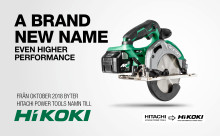 Hitachi Power Tools + KKR = HiKOKI