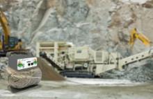 Molntjänst för bergtäkter effektiviserar via mobilnäten