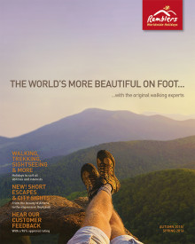 New Long-Haul Walking Adventures with Ramblers Worldwide Holidays