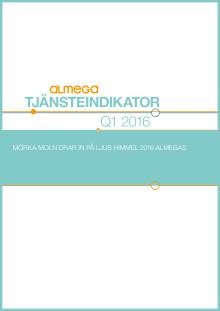 Kortversion Tjänsteindikatorn 1kv 2016