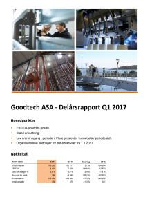 Kvartalsrapport Q1 2017