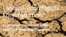 Sommarens torka leder till kraftigt ökade kostnader för svenska livsmedelsproducenter