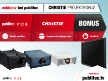 Projekt-Bonus für Christie Projektoren und LCD-Großbild-Displays exklusiv bei publitec