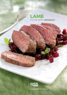 Lamb – appealing to consumer taste