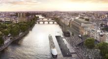 L'Oréal Paris muuttaa ikonisen Seine-joen upeaksi catwalkiksi, jonka äärelle jokainen on tervetullut