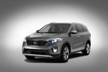 Fem stjärnor i Euro NCAP till nya Kia Sorento