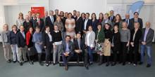 Stiftungsnetzwerk Bildung in Nordrhein-Westfalen tagte in der Sparkasse Neuss