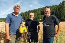 Modern teknik som ska bli en hjälp i lantbrukarens vardag