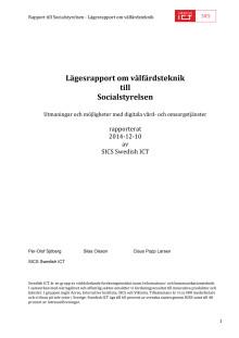 SICS_valfardsteknik_Socialstyrelsen