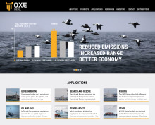 Cimco Marine AB launches new website for the OXE Diesel
