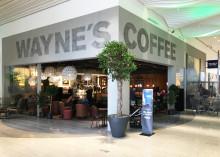 Wayne´s Coffee öppnar i nya Halmstad Eurostop