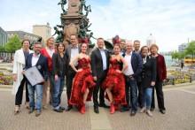 """Leipzig feiert seine """"Geburtstagparty"""""""