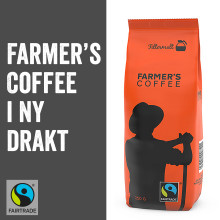 Farmer's Coffee i ny drakt