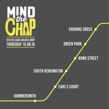 LONDONERS URGED TO 'MIND THE CHAP' DURING MEN'S HEALTH WEEK (Embargoed 16.06.16 00:01)