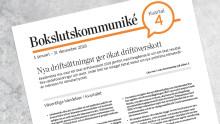 Bokslutskommunikén 2018: Nya driftsättningar ger ökat driftöverskott