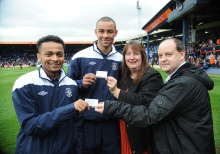 London Midland supports Luton Town FC's youth programme