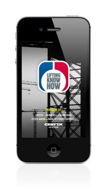 CERTEX lanserar app för iPhone och iPad