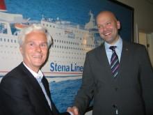Vaktskifte i Stena Line Norge: Rickard Ternblom etterfølger Stein Wettergreen som linjesjef