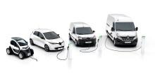 Verdenspremiere: Renault utvider sitt elektriske varebilprogram