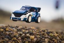 Ford Fiesta WRC Rallye-Auto wird Bestandteil der exklusiven LEGO® Speed Champions-Spielzeugserie