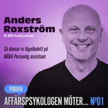 NÄRAs VD Anders Roxström deltar i affärspsykolog Jan Blomströms podd. Hur gör NÄRA för att möta de allt hårdare krav som sätts på assistansbranschen?