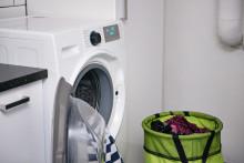Stor skillnad i energianvändning mellan olika program på tvättmaskiner