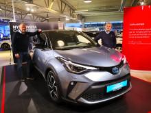 Oppgradert Toyota C-HR er klar for veiene i Harstad