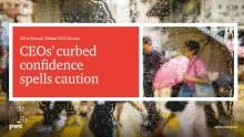 CEO confidence shaken by global uncertainties