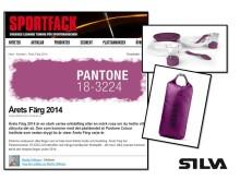 Trendspaning i Sportfack: Årets färg 2014