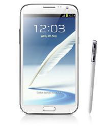 Samsung Galaxy Note II nu i butik
