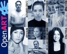 Lokala konstnärer som medverkar i årets Open Art