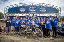 Aaron Plessinger Makes it Two for 2018 with AMA Motocross 250MX Title Win