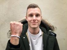Fotbollsspelaren Richard Magyar ny ambassadör för Suicide Zero