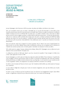 docdebase Ultima 2016 Littérature