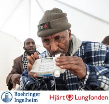 Hundratals Rinkebybor köade för test av lungfunktion