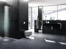 Indret et luksusbad, der er nemt at gøre rent