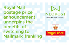 Royal Mail postage price announcement underpins the benefits of switching to Mailmark franking
