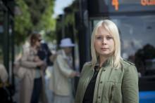 MP: Släpp på bussresenärerna genom alla dörrar