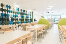 Lekolar inreder Solviksskolan i Ludvika
