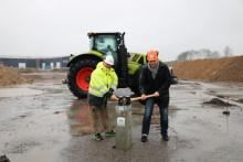 Bygget av nordiskt reservdelslager i Skurup är igång