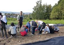 Økologisk Norge skal etablere 10 skolehager i Viken